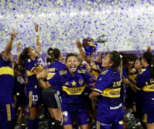 foto: Boca arrolló 7-0 a River por la final del torneo femenino