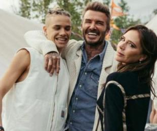 foto: Romeo Beckham debutó como modelo en la tapa de Vogue hombres