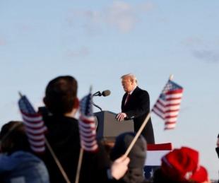 foto: Donald Trump dejó la Casa Blanca y prometió: