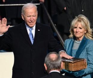 foto: Joe Biden asumió como presidente: