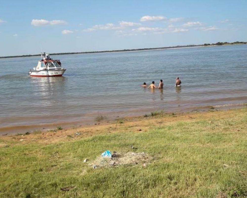 Hallaron el cuerpo de una de las personas ahogadas en un camping