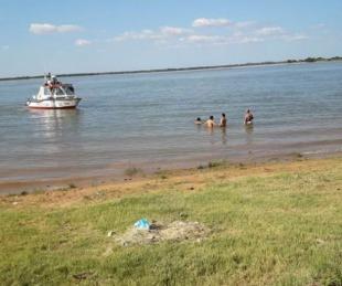 foto: Hallaron el cuerpo de una de las personas ahogadas en un camping