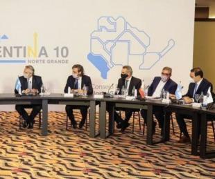 foto: Valdés, presente en la reunión del Consejo del Norte Grande en La Rioja