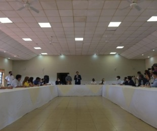 foto: Legisladores e intendentes de Corrientes se reunieron con Trotta