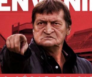 foto: Julio Falcioni es el nuevo entrenador del rojo de avellaneda