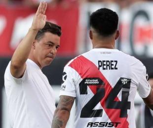 foto: Alivio para el club: Enzo Pérez rechazó la oferta de los turcos