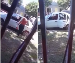 foto: Entre Ríos: Una mujer le destrozó el auto a martillazos a su ex pareja