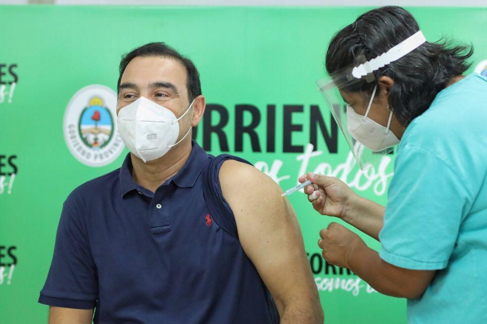 Valdés se aplicó la segunda dosis de la vacuna contra el coronavirus