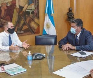 foto: Martín Guzmán visitará Chaco para la asunción de un superministro