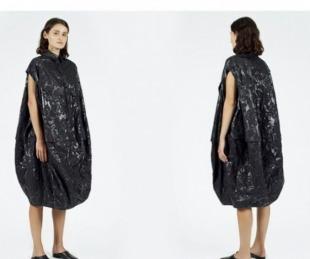 foto: Vestido de 660 dólares ¿es una bolsa de basura?