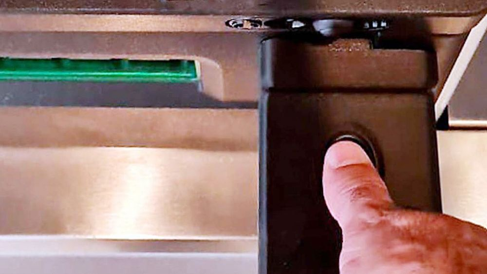 Se podrá extraer dinero de cajeros automáticos con la huella digital