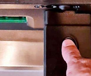 foto: Se podrá extraer dinero de cajeros automáticos con la huella digital