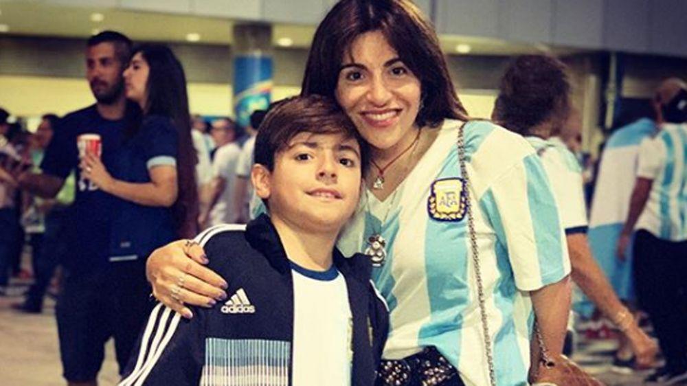 El mensaje de Gianinna Maradona antes del positivo Benjamín Agüero