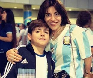 foto: El mensaje de Gianinna Maradona antes del positivo Benjamín Agüero