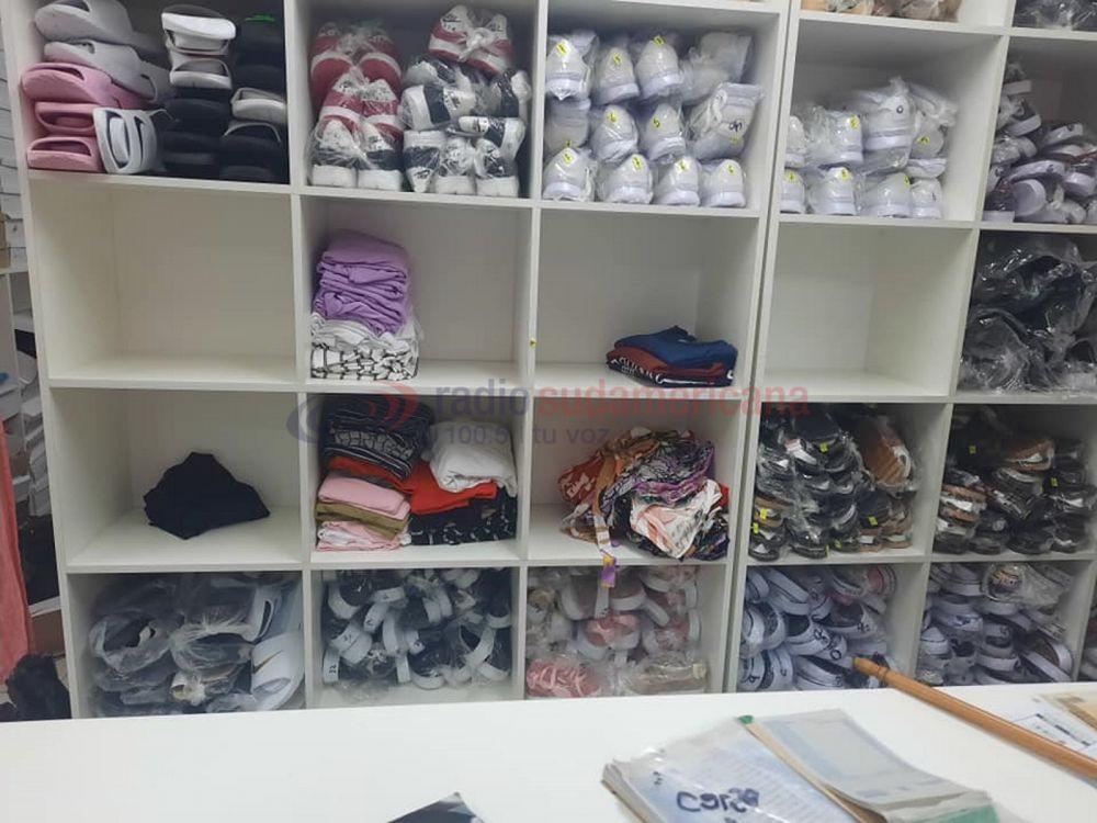 Delincuentes robaron cerca de $800.000 en ropa de un comercio