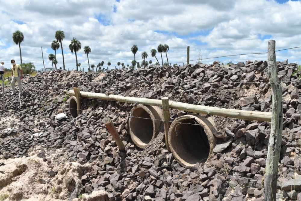 Goya: ejecutarán importante obra de enripiado en una zona rural