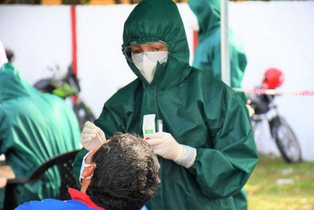 Corrientes: detectaron 107 casos de Coronavirus, 58 son de Capital
