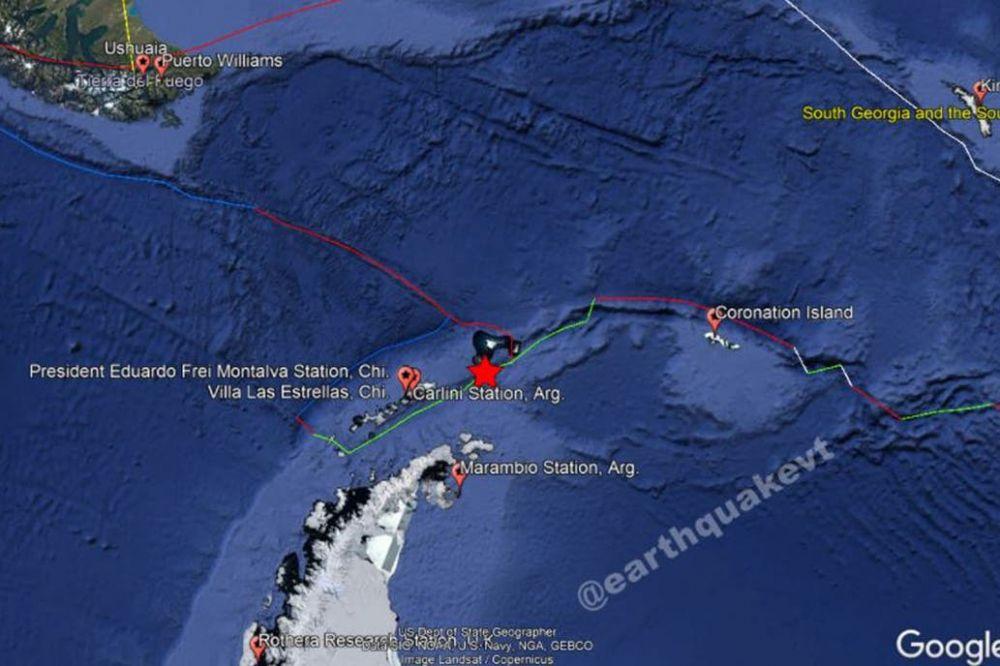 Seguidilla de terremotos sacudió a Mendoza, Chile y la Antártida