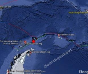 foto: Seguidilla de terremotos sacudió a Mendoza, Chile y la Antártida