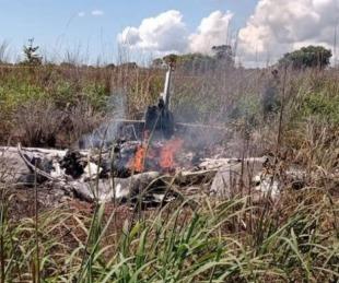 foto: Brasil: jugadores y presidente de un club murieron en accidente aéreo