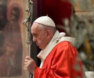 foto: El Papa Francisco suspendió celebraciones por razones de salud