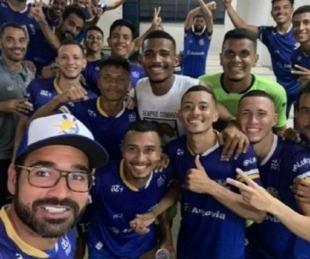 foto: Brasil: presidente y cuatro jugadores mueren en un accidente