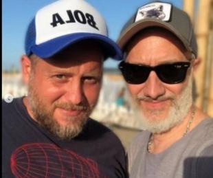 foto: Andy Kusnetzoff y Cayetano se separaron tras 18 años de radio juntos