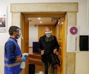 foto: Portugal elige presidente en medio de la pandemia de coronavirus