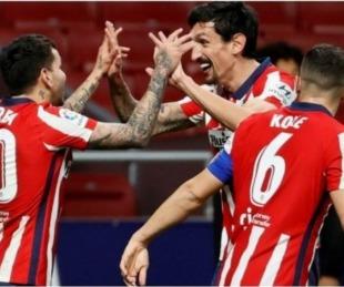 foto: Con gol de Correa, Atlético de Madrid ganó y sigue líder en España
