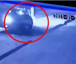 foto: La atropellaron cuando bajaba del remis y se dieron a la fuga