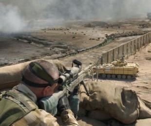 foto: Francotirador mató a cinco terroristas con un solo disparo