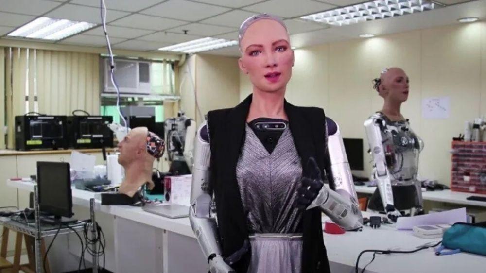 Modelo Sophia: la robot que podría llegar a los aeropuertos