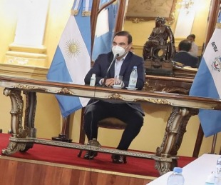 foto: Gustavo Valdés inició la primera reunión de gabinete del año