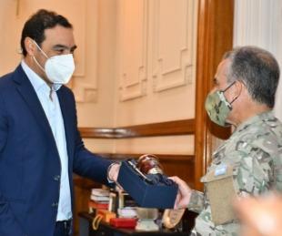 foto: El Ejército comprometió su aporte en la Campaña de Vacunación
