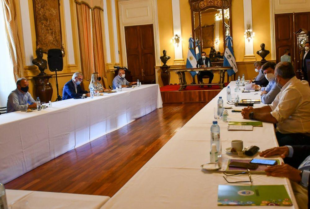 Valdés comenzó a planificar los objetivos 2021 con su Gabinete