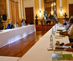 foto: Valdés comenzó a planificar los objetivos 2021 con su Gabinete