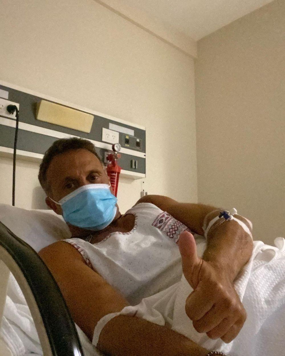 Sergio Lapegüe fue internado tras contraer coronavirus