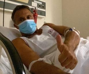 foto: Sergio Lapegüe fue internado tras contraer coronavirus