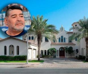 foto: Alquilan la mansión donde vivió Maradona: cuánto cuesta la noche
