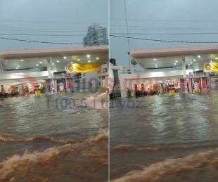 foto: Fotos y videos: las intensas lluvias volvieron a caer en Corrientes