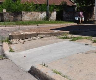 foto:  Inclusiva: Hicieron 100 rampas en distintas esquinas de la ciudad