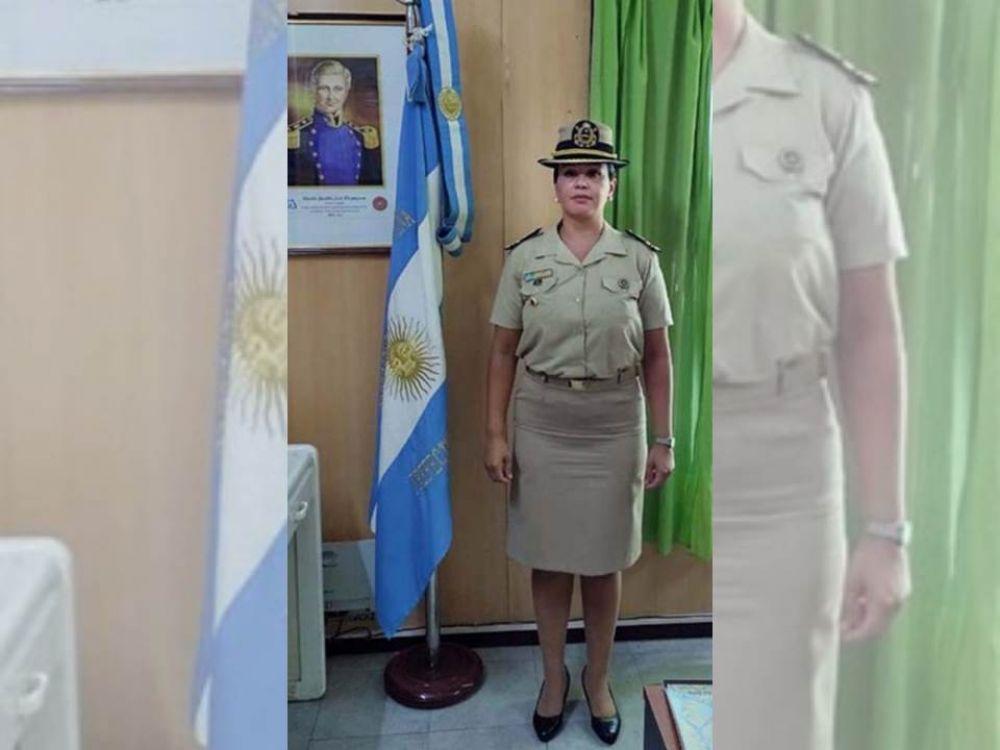 Leticia Díaz es la primera mujer en ocupar una jefatura en Prefectura