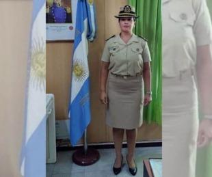 foto: Leticia Díaz es la primera mujer en ocupar una jefatura en Prefectura