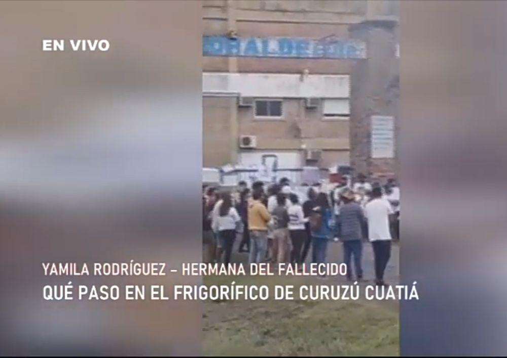 Muerte en un frigorífico: la familia del joven reclama justicia
