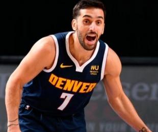 foto:  NBA: Campazzo triunfó en Denver Nuggets ante Miami Heat