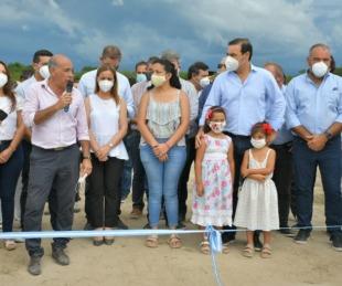 foto: Valdés inauguró importantes obras hídricas y viales en San Isidro