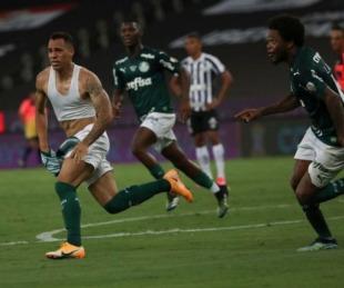 foto: Palmeiras venció a Santos y es campeón de la Copa Libertadores
