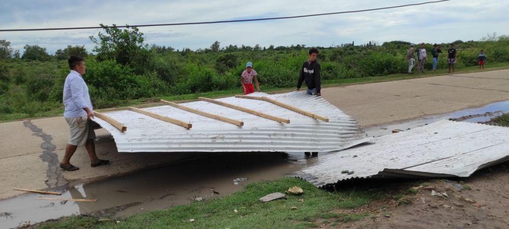 Goya: hubo varios barrios afectados por las fuertes tormentas