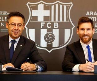 foto: Barcelona demandará al medio que publicó el contrato de Lionel Messi