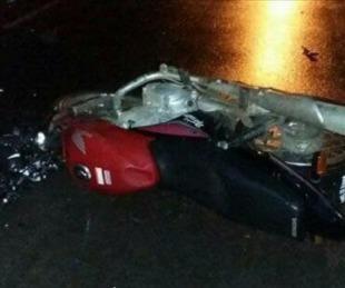 foto: Itá Ibaté: un hombre murió luego de despistar con su motocicleta